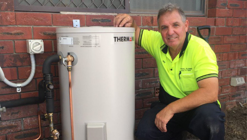 home hot water system repairs Midland